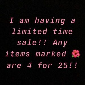 COPY - I AM HAVING A SALE!! LIMITED TIME ONLY!!